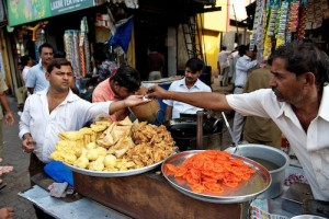 tips for visiting india street food