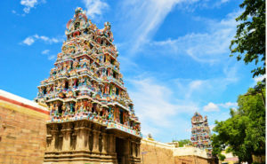 most spectacular temple in Southern India