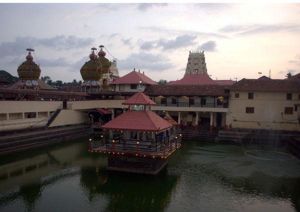 Udupi's Krishna Temple Pond