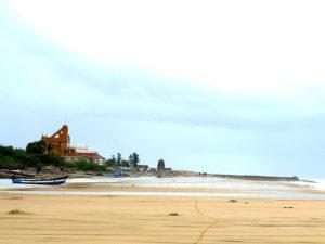 Beach at Danish Colony in India