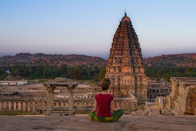 ruins of Hampi India's Cup