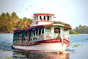 beautiful backwaters of Kerala