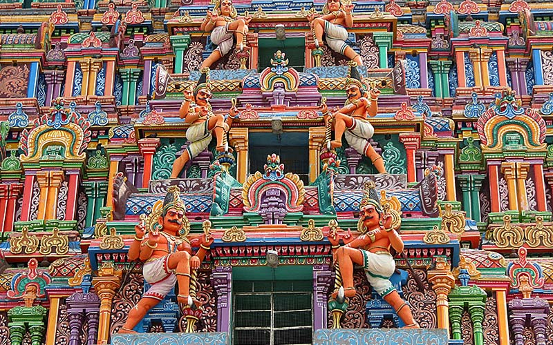 Temple in Tamil Nadi. Photo by: The Travel Scientists